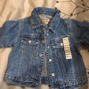 Toddler boy jean jacket